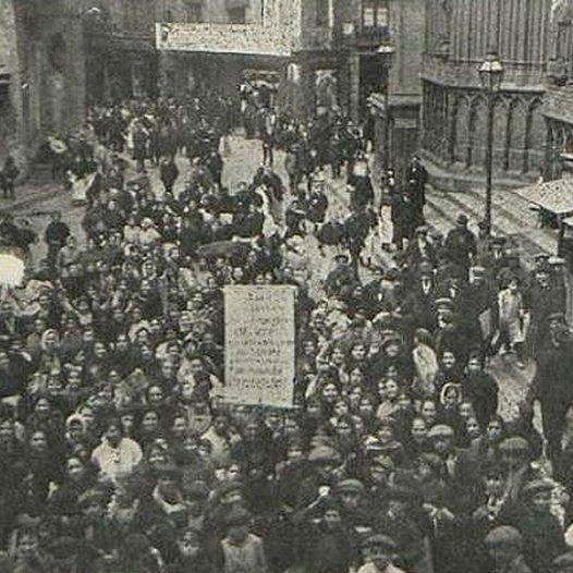 Club de l'Experiència · El motí de les dones de 1918 a Barcelona