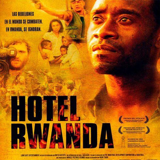 Club de l'Experiència · Cinefòrum · Guerra i societat civil · Hotel Rwanda