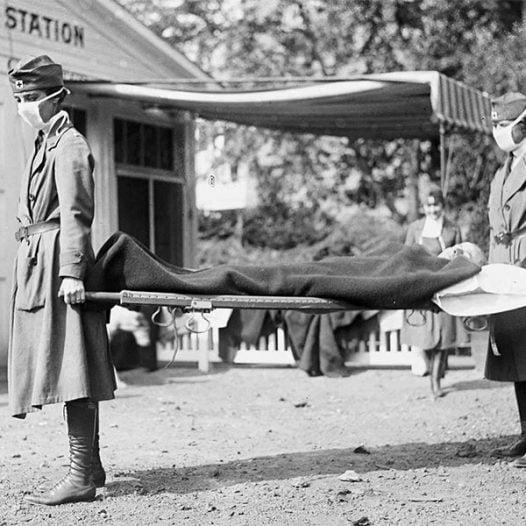 Club de l'Experiència · L' epidèmia de grip de 1918. L'altre enemic d'una societat en guerra