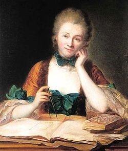 Dones de ciència retrobades en la història · Madame Châtelet i les seves seguidores a Instagram