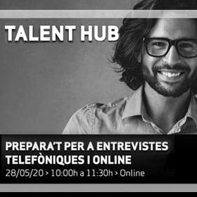 Alumni online · Prepara't per a entrevistes telefòniques i online