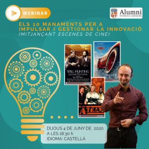Webinar Innovacio I Cine 01