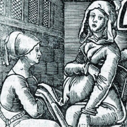 Néixer entre dones. Llevadores, maternitat i ciència a l'Edat Mitjana.