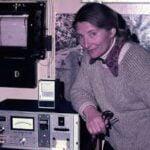 Edith Farkas i la capa d'ozó a l'Antàrtida
