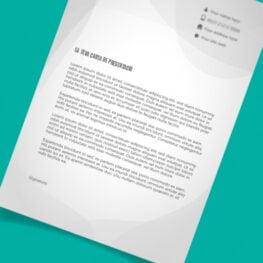 Carta Presentacio