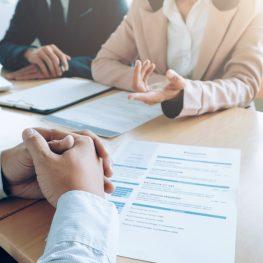 Business, Job Interview Concept.