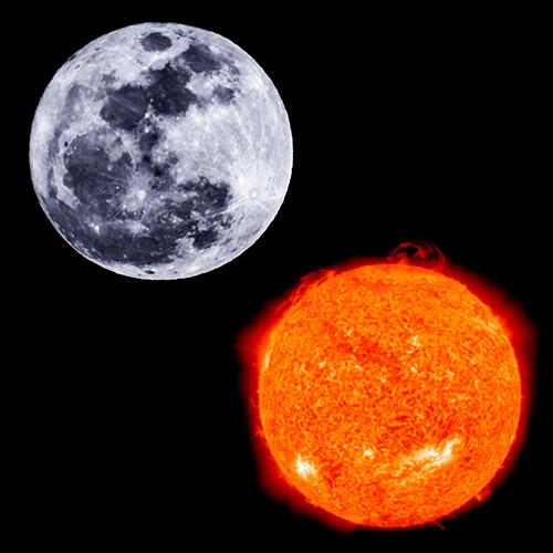 Curiositats del Sol i de la Lluna