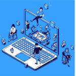 Reunions comercials virtuals. Balanç i ensenyament després d'un any de pràctica